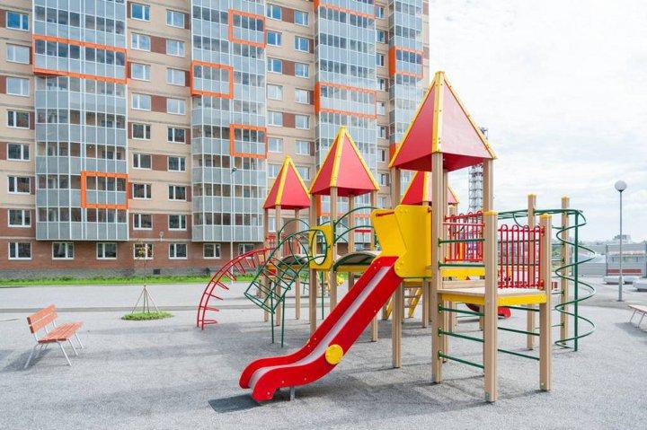 ЖК Мурино детская площадка