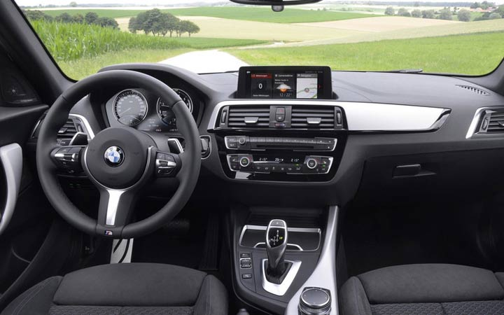 BMW 1-series 2019 interior