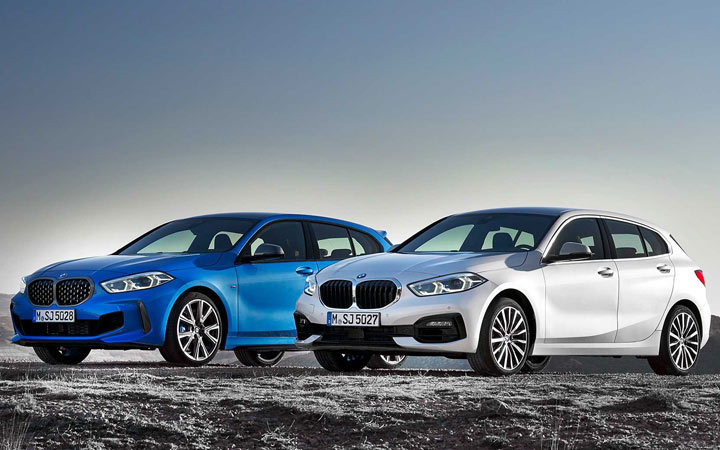 Новинка 2019 года BMW 1-series