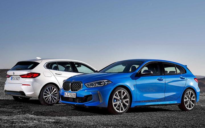 Первые живые фото BMW 1-series 2019 года