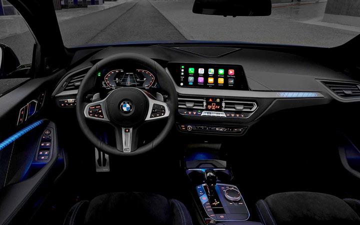 Интерьер BMW 1-series 2019 года