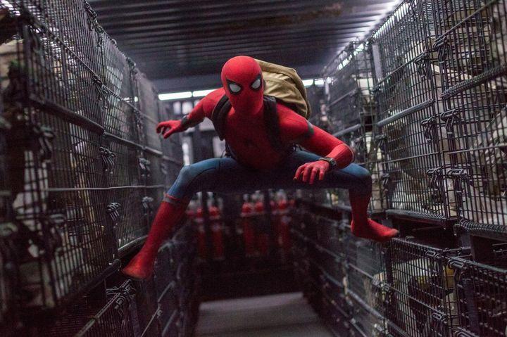 Человек паук возвращение домой 2