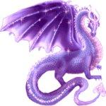 дракон сиреневый