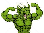 мускулистый дракон