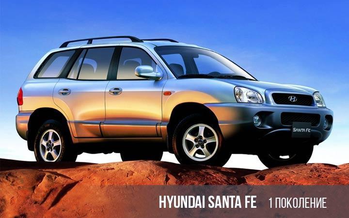 Hyundai Santa Fe 1 поколение