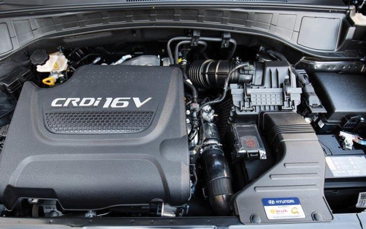 Двигатель Hyundai Santa Fe 2019