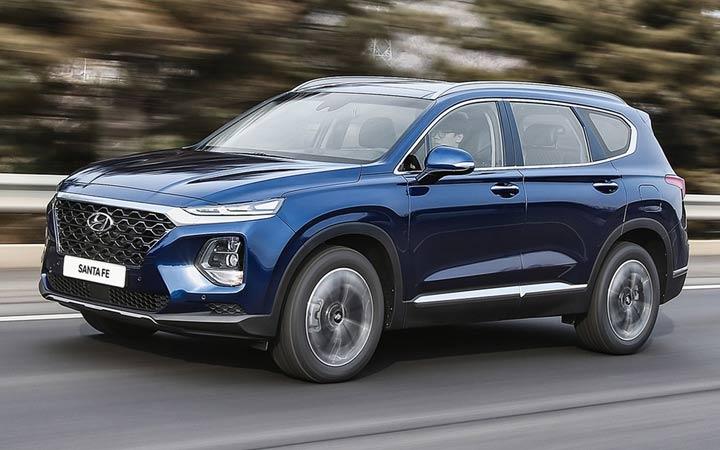 Новый внедорожник Hyundai Santa Fe 2019