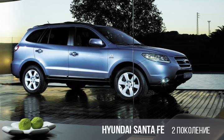 Hyundai Santa Fe 2 поколение
