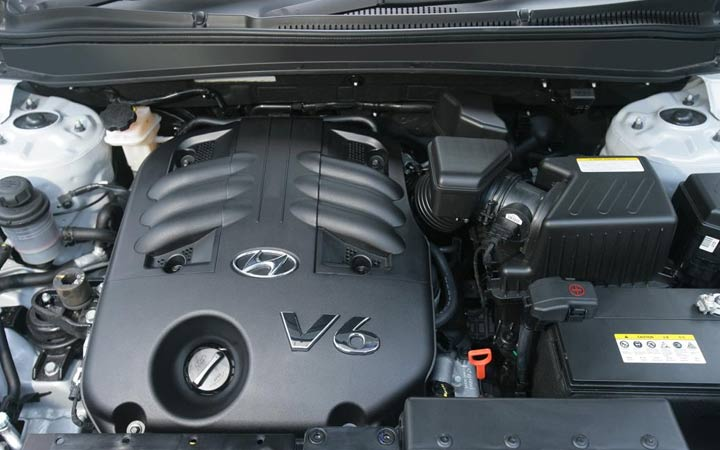 Силовые агрегаты Hyundai Santa Fe 2019