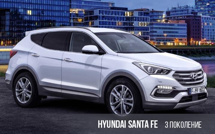 Hyundai Santa Fe 3 поколение