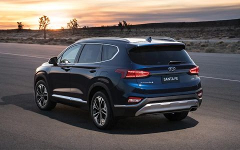 Экстерьер новой модели Hyundai Santa Fe 2019