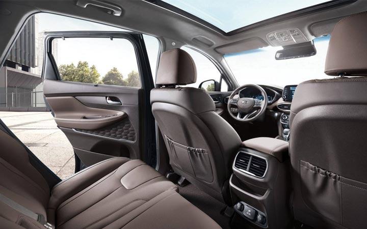 Интерьер нового Hyundai Santa Fe 2018 - 2019