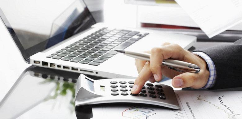 калькулятор и ноутбук