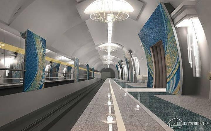 Станция метро Театральная в Санкт-Петербурге