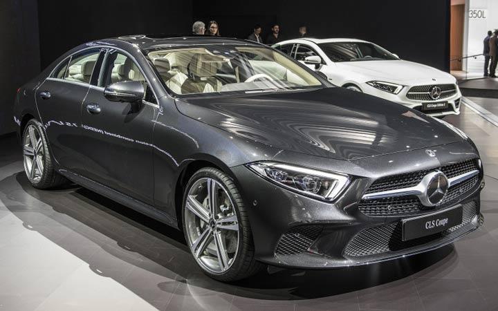 Презентация нового Mercedes CLS 2019 года