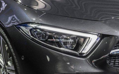 Головная оптика нового Mercedes CLS 2019