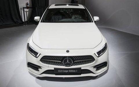 Экстерьер Mercedes CLS 2019 года