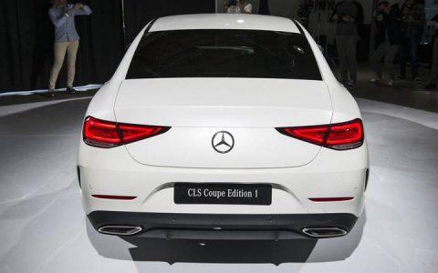 Задняя оптика Mercedes CLS 2019 года