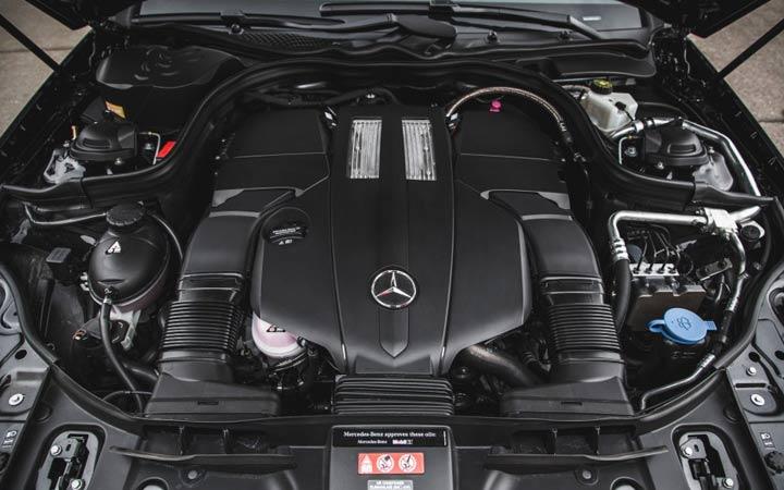 Силовой агрегат Mercedes CLS 2019