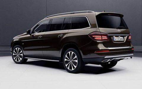 Новый дизайн Mercedes GLS 2019 года