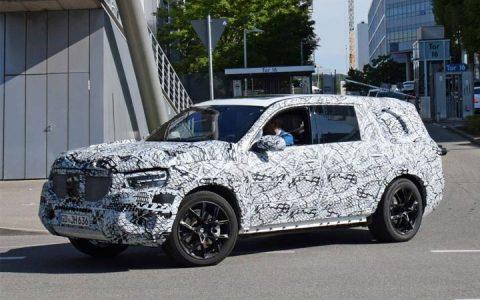 Испытания Mercedes GLS 2019 года