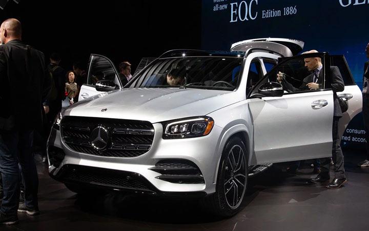 Презентация нового Mercedes GLS 2019-2020