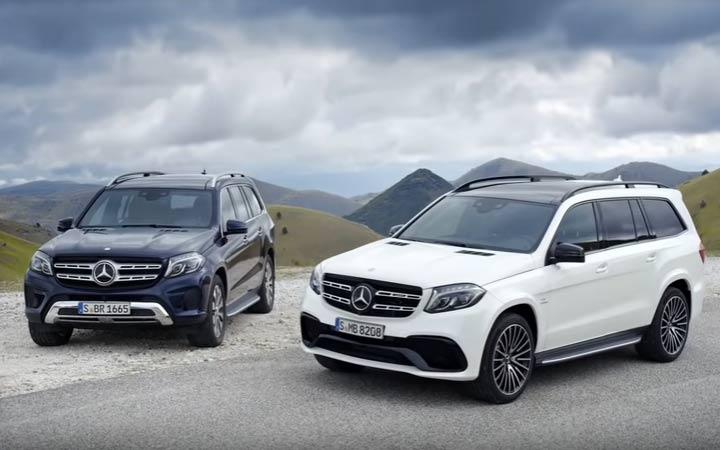 Экстерьер нового Mercedes GLS 2019