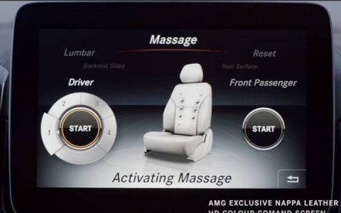 Оснащение Mercedes GLS 2019