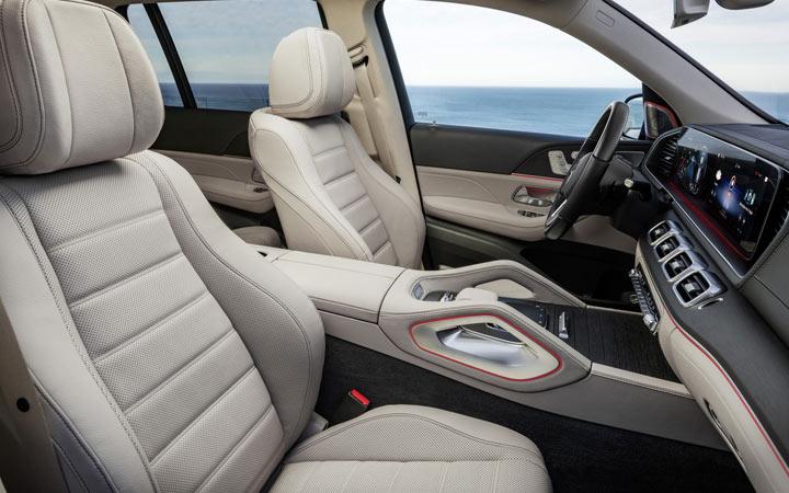 Салон нового Mercedes GLS 2019