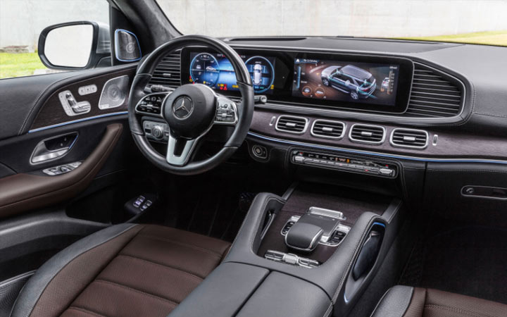 Интерьер Mercedes GLS 2019-2020