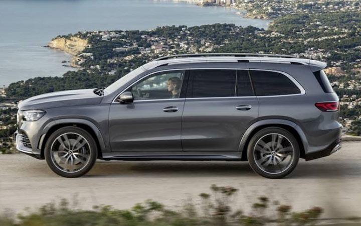 Габариты нового Mercedes GLS 2019-2020