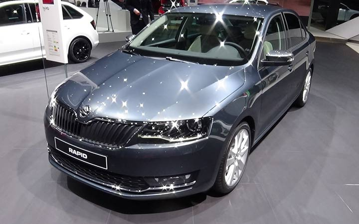 Škoda Rapid 2018