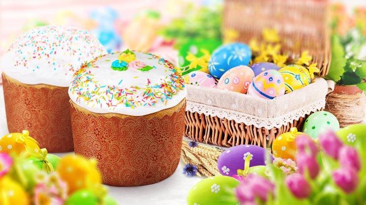 пасхальные яйца и пасочки