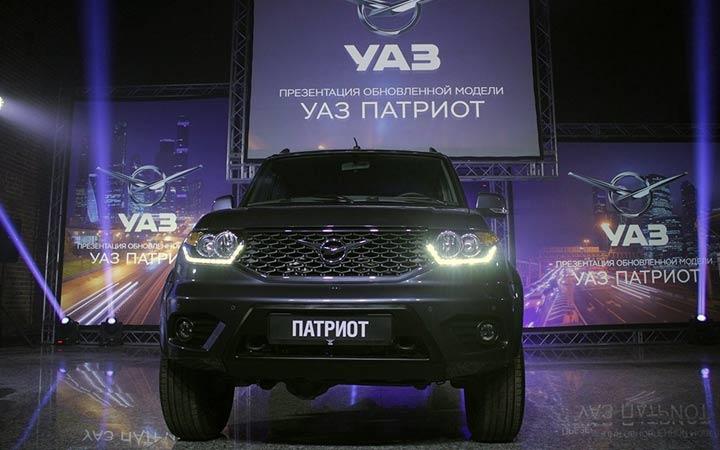 Презентация УАЗ Патриот 2019 года