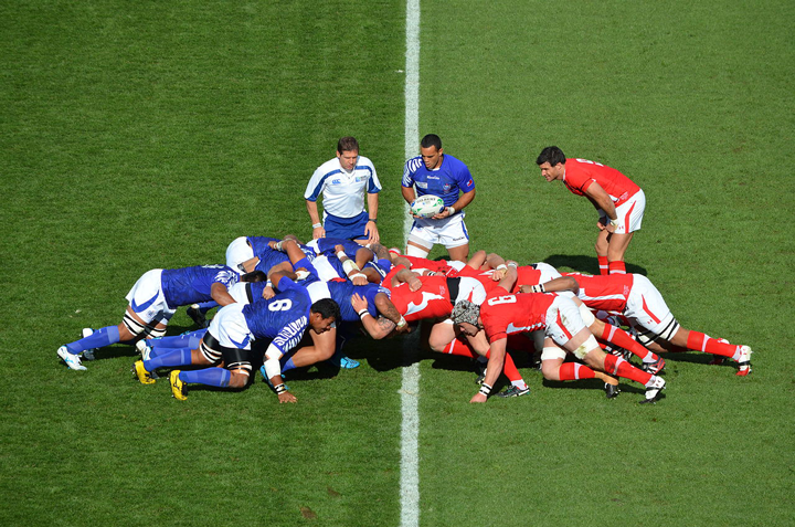 Rugby World Cup: Wales-Samoa