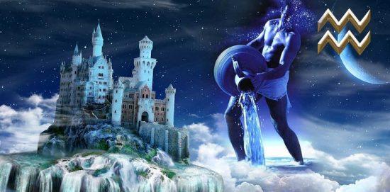 водолей и замок