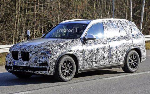 Испытания BMW X5 2019