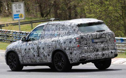 BMW X5 2019 в камуфляже