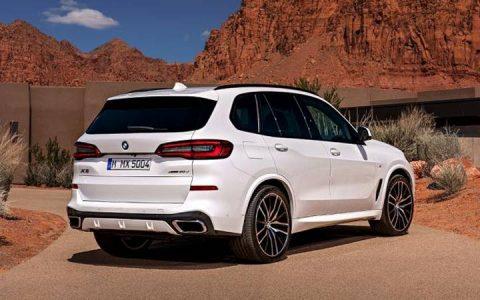 Новый дизайн BMW X5 2019 года