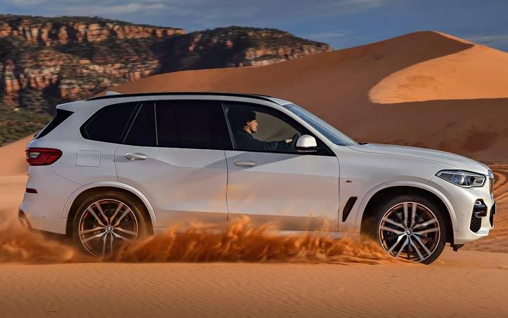 Первые фото BMW X5 2019 года