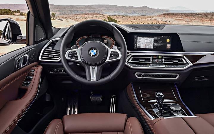 Салон нового BMW X5 2019 года