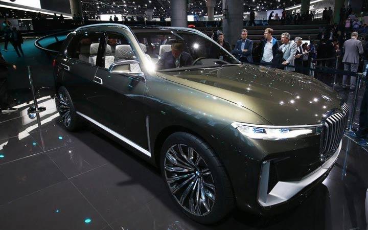 Франкфурт BMW X7 2019 года