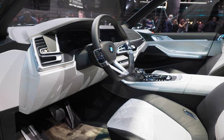 Салон BMW X7 2019