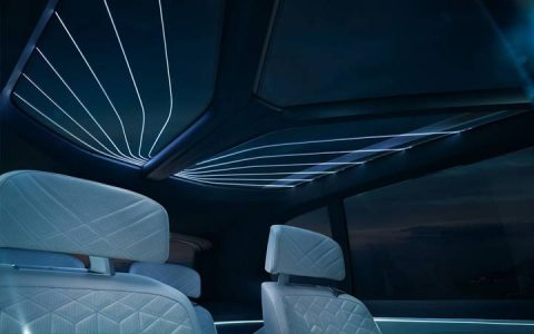 Панорамная крыша BMW X7 2019