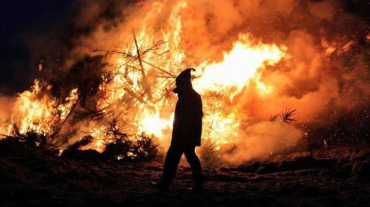 Человек на пожарище