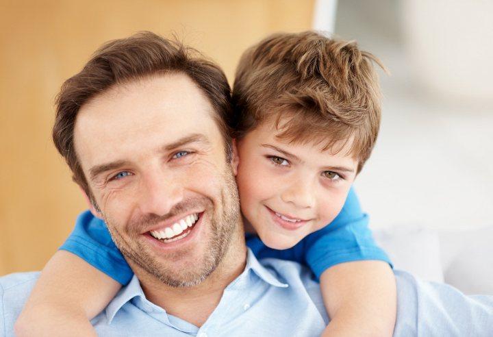 мужчина с сыном