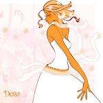 дева в белом платье
