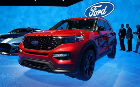 Презентация Ford Explorer 2019-2020