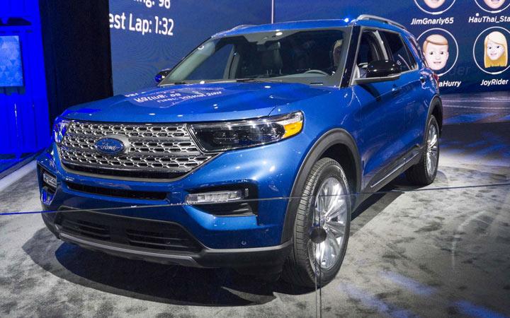 Экстерьер Ford Explorer 2019-2020 года