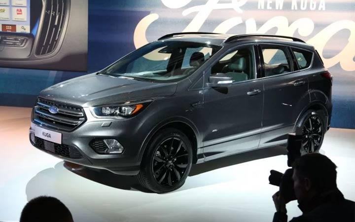 Презентация Ford Kuga 2018-2019